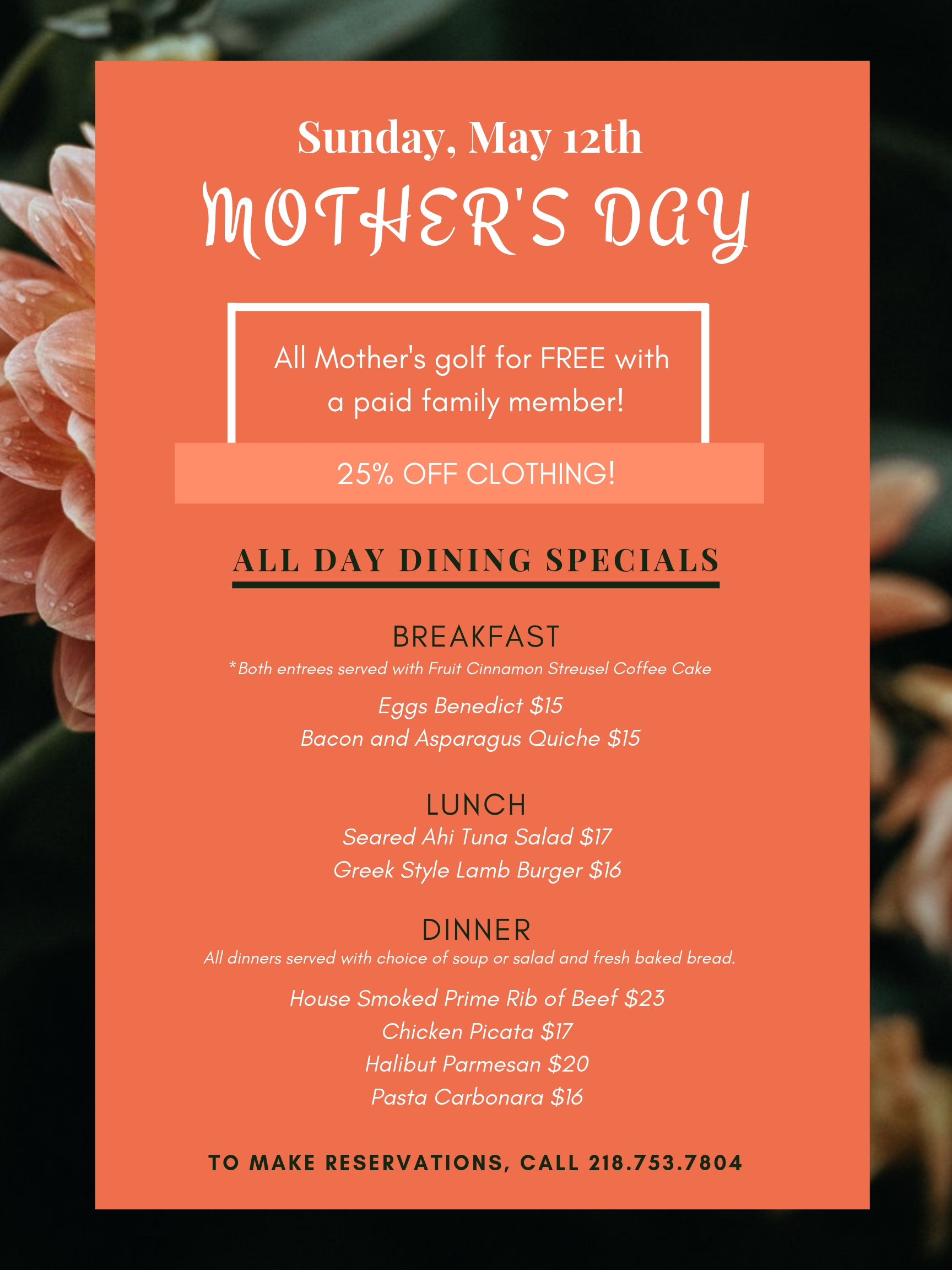 Mothers Day Flyer 2019